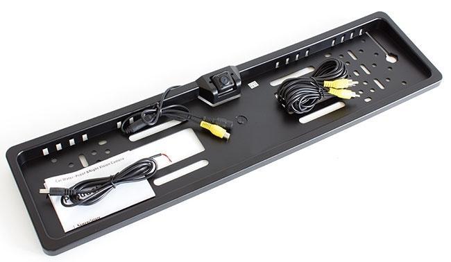LED21 AG320 Couvací kamera v rámečku SPZ